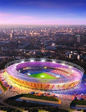 """伦敦奥运会主会场""""伦敦碗""""。(资料图片)"""