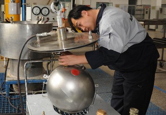 北京飞机维修工程有限公司(ameco)附件分部瓶子车间
