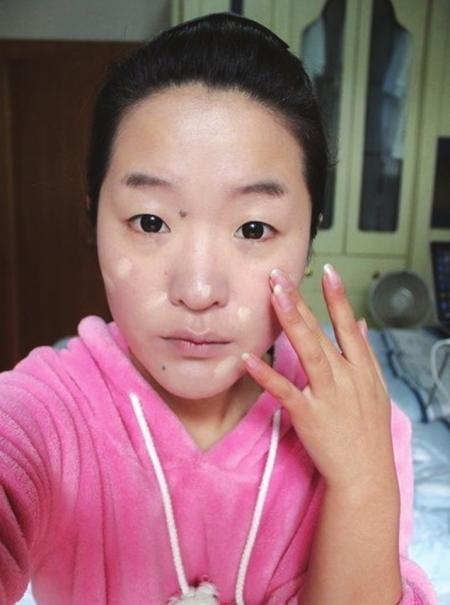 台湾妮妮的素颜照