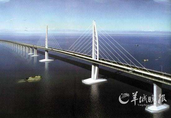 港珠澳大桥正破世界级难度