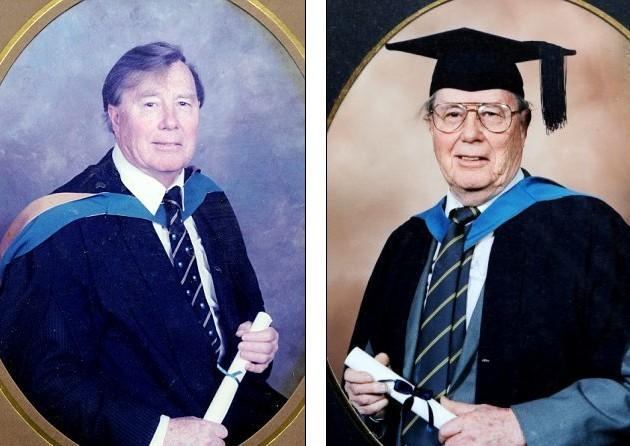活到老学到老!英91岁老翁拿硕士学位拟攻读博士