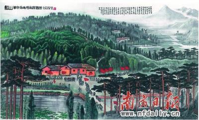 李可染《韶山》以1.24亿元成交,创出今春拍卖场首个高价,也刷新画家拍场成交纪录。