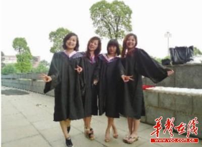 """湖南农业大学人文学院东湖学生公寓5栋629室的""""四姐妹""""全部考上了图片"""