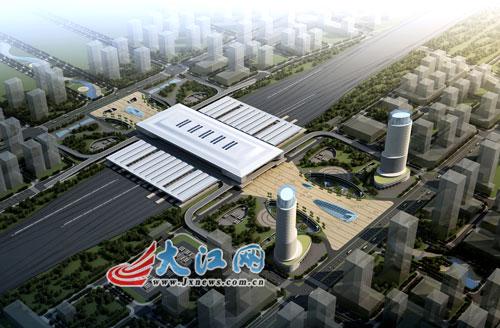 """该项目负责人说,西客站广场工程在设计中整合了"""""""