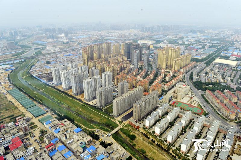 郑州城市建设取得丰硕成果