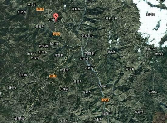 凉山宁南县白鹤滩水电站图片