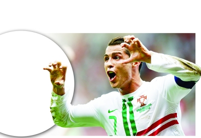 ...c罗就是这样的人.东欧人在欧洲杯的看台依然保持着绝对优势...