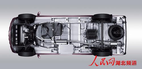 房车底盘结构图