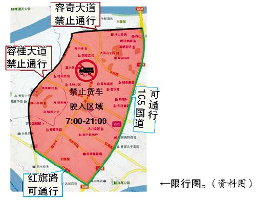 容桂中心城区下月起货车限行