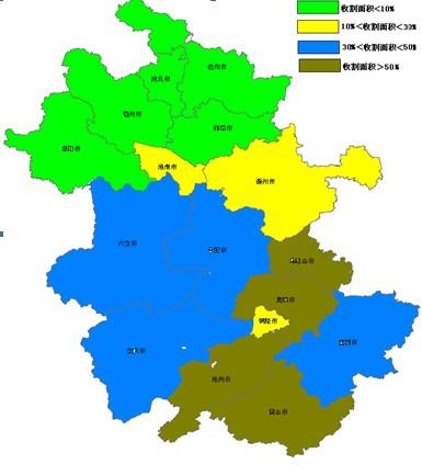 淮北地区地图全图