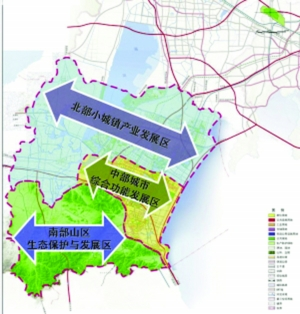 宜兴高铁新城概念规划完成