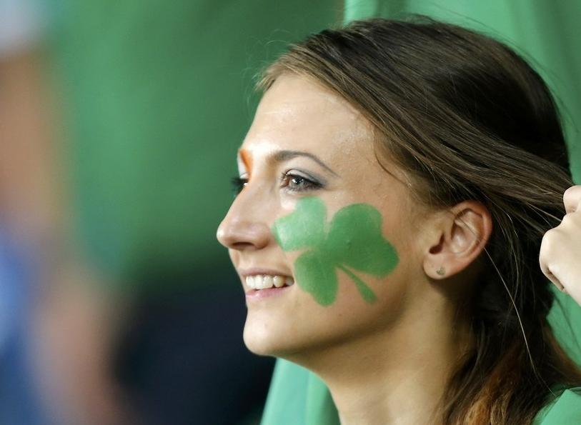 爱尔兰美女球迷