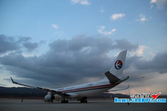 第二架空中客车a330宽体飞机将主要投入昆明——北京