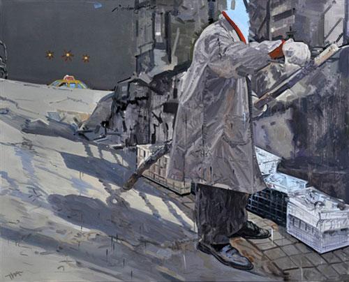 获奖作品《存在》   2012约翰·莫尔新绘画大奖赛(中国)共