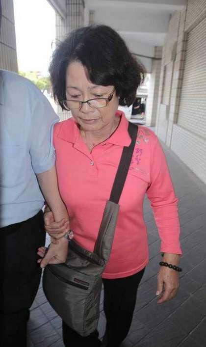 林益世母亲沈若兰今再度被约谈。来源:台湾媒体