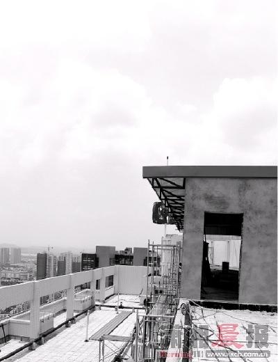 楼顶各种管道结构图