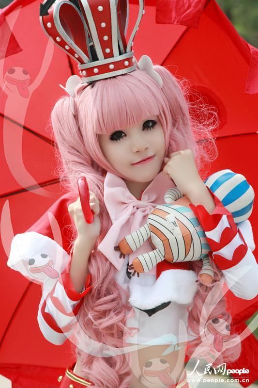 海贼王one piece 幽灵公主佩罗娜 可爱cosplay