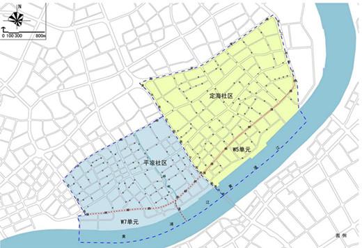 江(平凉、定海社区)详细规划图-杨浦滨江规划征询公众意见 拟设