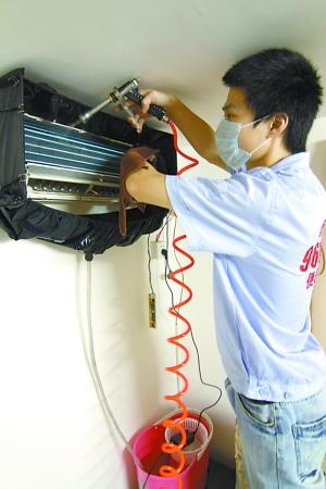 空调内机外壳拆装步骤图解