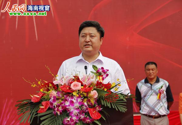 > 正文   五指山市市委书记宋少华表示将支持项目的进展 人民网海南