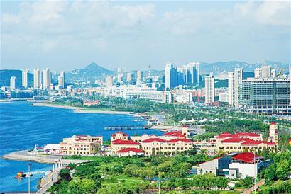 灵山湾,古镇口湾,龙湾,琅琊台湾,月亮湾,棋子湾9个海湾,构成了青岛西