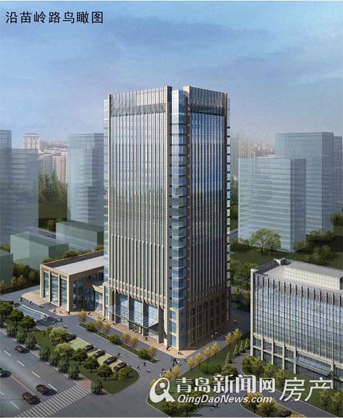 青岛金融中心大厦项目规划面世 崂山金家岭金融新区将