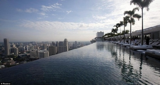 楼顶游泳池