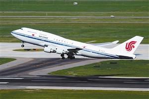 国航波音747客机. (资料图片)
