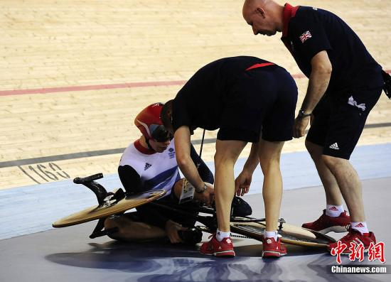 资料图:英国自行车选手。 图片来源:Osport全体育图片社