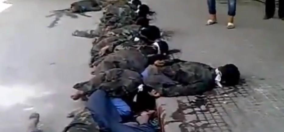叙利亚反对派处决20名政府军士兵
