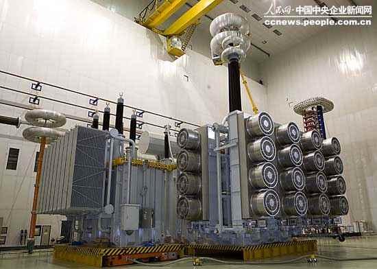 柱结构特高压自耦变压器