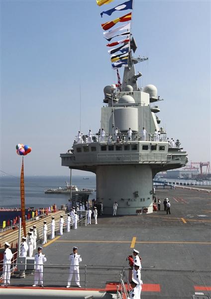 """月25日,我国第一艘航空母舰""""辽宁舰""""已按计划完成建造和试验"""