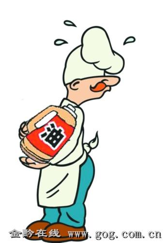 """超市厨师去送饭""""顺""""走69箱食用油"""