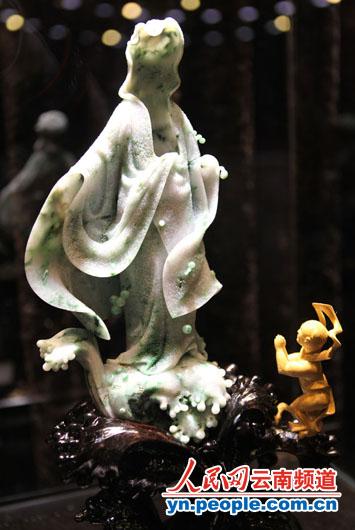 2012云南玉雕大师作品展开幕