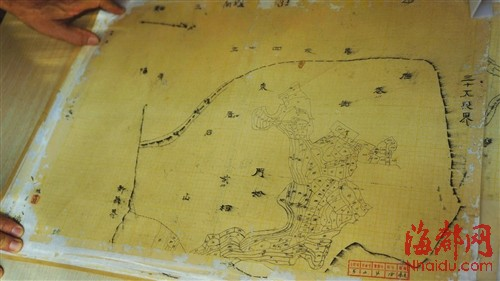 莆田发现152张民国手绘地图