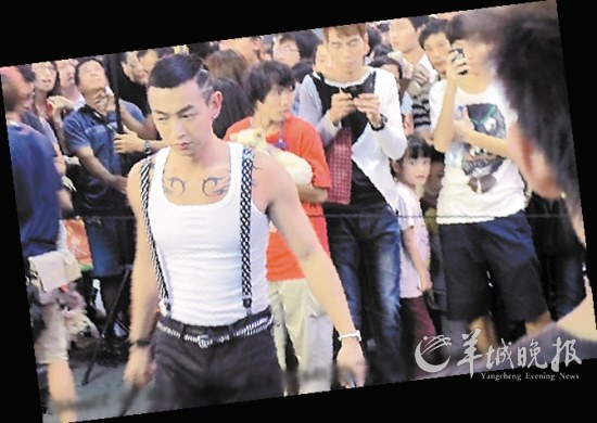 """王晶在微博里说:""""《古惑仔:江湖新秩序图片"""