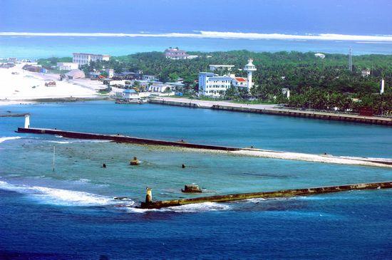 永兴岛是西沙群岛最大的岛屿。