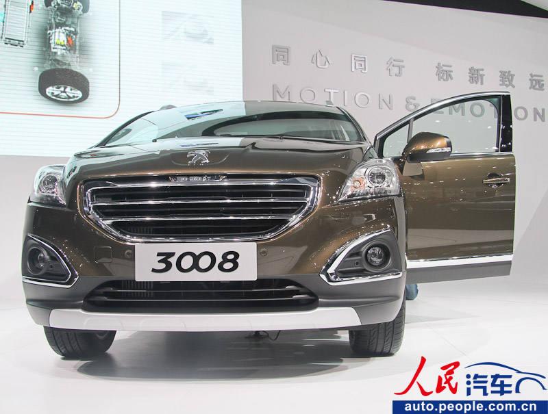 广州车展:东风标致3008 1.6t多方位实车解析
