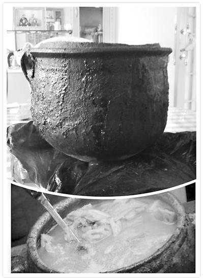 电高压锅煮汤