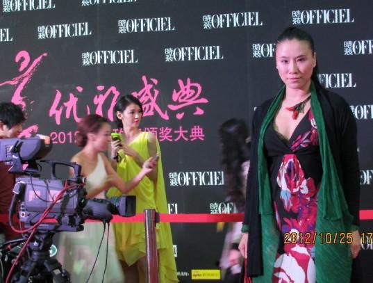 旅法美女油画家王俊英亮相2012中国优雅盛典