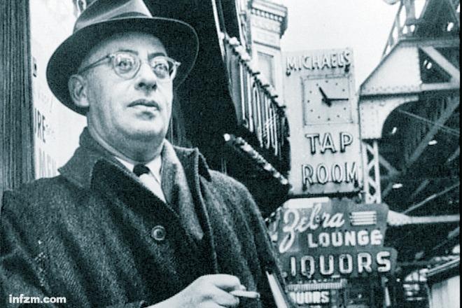 索爾·阿林斯基在芝加哥伍德朗街區,1966。(南方周末資料圖)