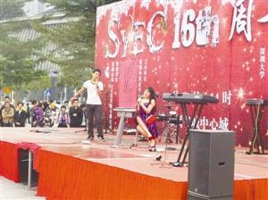 深圳青少年英语俱乐部 精彩汇演全是学生当家