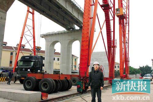 广州路桥建设中的湖南籍铁道兵1