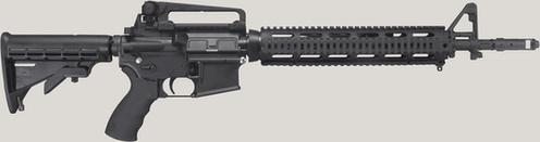 """223口径""""大毒蛇""""(Bushmaster)是校园杀人案中的主要作案工具。(资料图片)"""