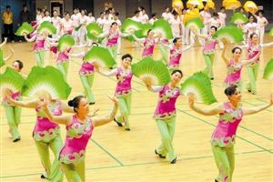 木兰扇老人鼓2000社团蹁跹舞曲棍球秧歌简介图片