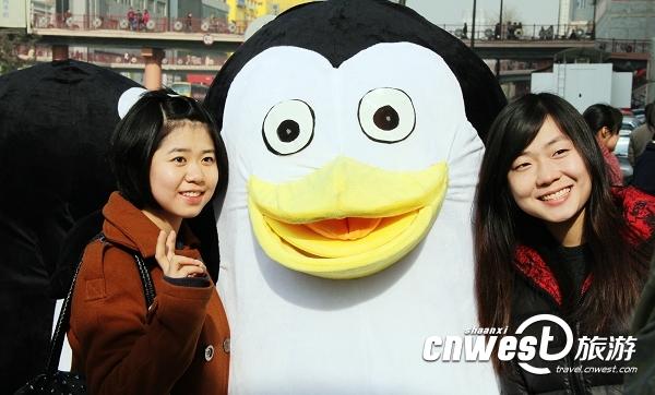 瘦身版qq企鹅头像