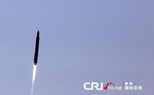 """30日,韩国""""罗老""""号在位于全罗南道的罗老宇宙中心发射升空。"""
