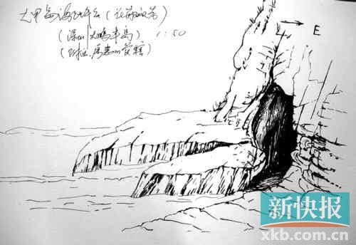 素描表现手绘石头