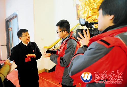 本报全媒体上阵聚焦山西两会(图)