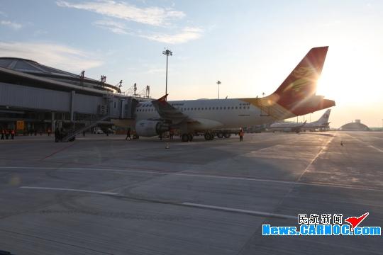 鄂尔多斯机场新航站楼启用